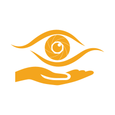 Eye Symbol above palm